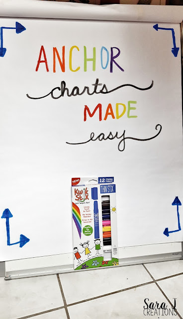 Make eye catching anchor charts, posters, projects and more with super quick drying tempera paint.
