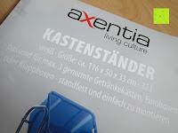 Zettel: Stabiler Kistenständer Kastenregal Falschenregal Kastenständer (3 Kasten)