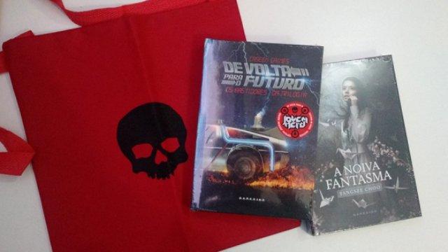 Kit Livros DarkSide Books Sorteados Bate-Papo Literatura