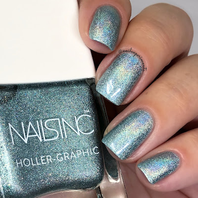 nails inc cosmic queen holler-graphic collection
