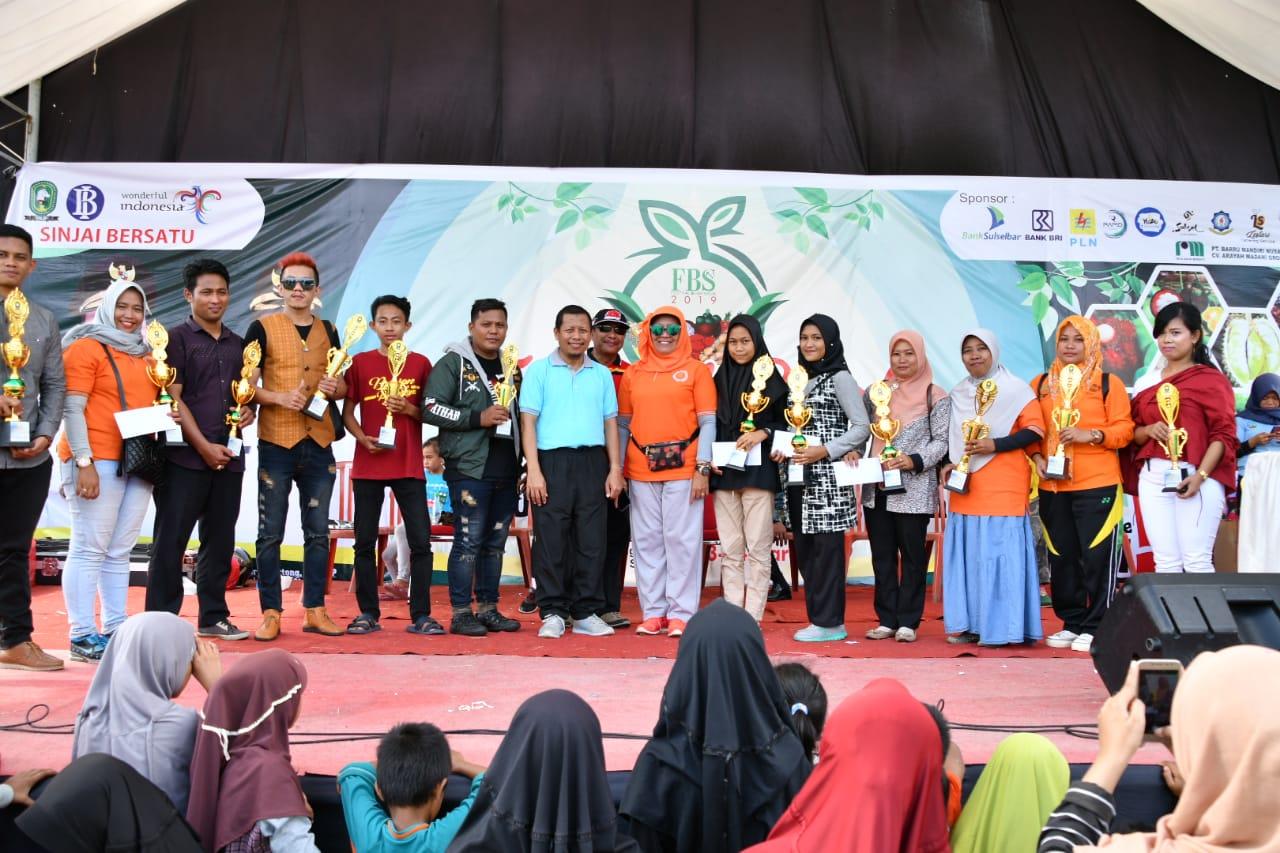 Berjalan Lancar dan Meriah, Festival Buah Sinjai Resmi Ditutup