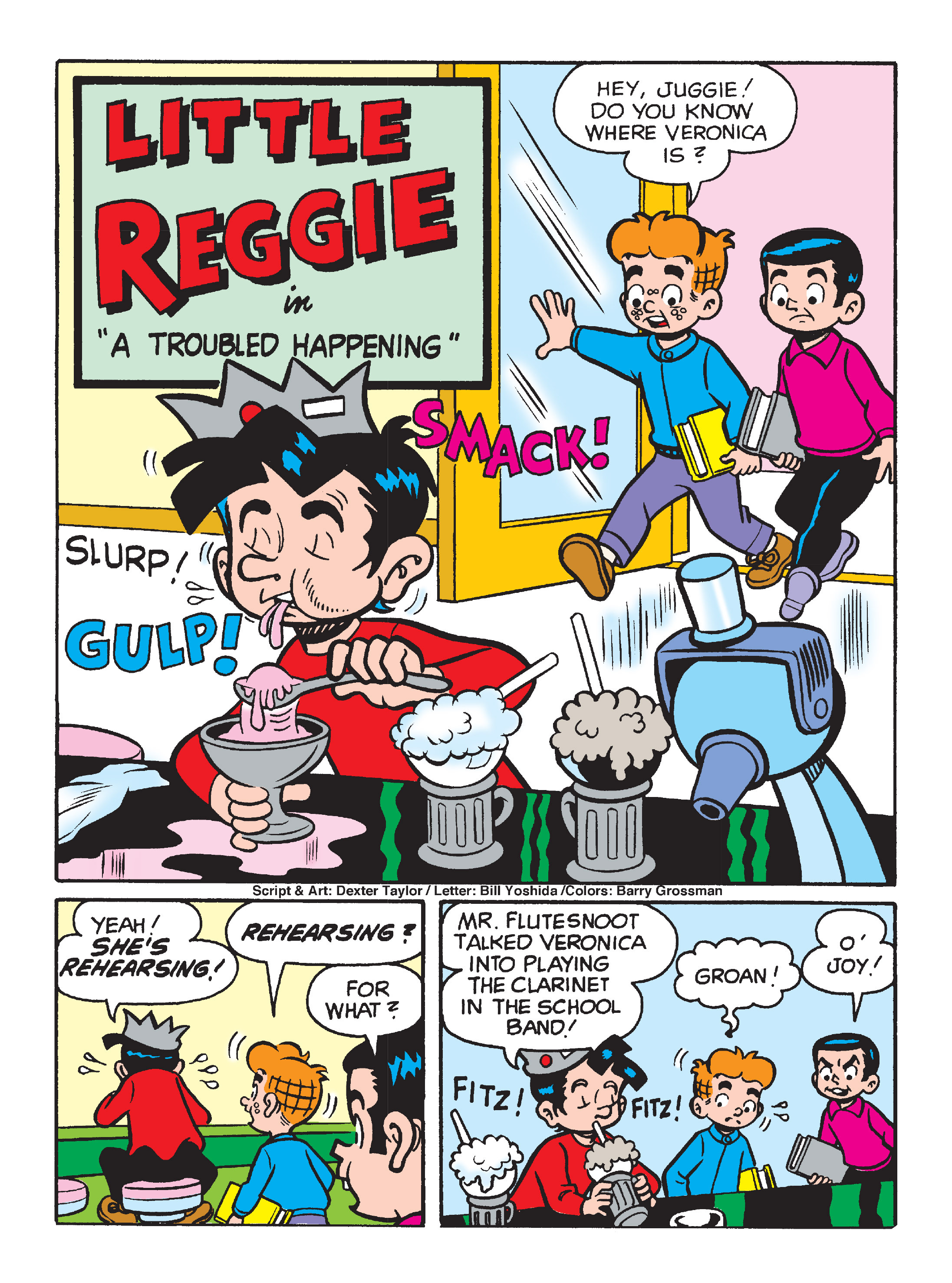 Read online Archie's Funhouse Double Digest comic -  Issue #1 - 126