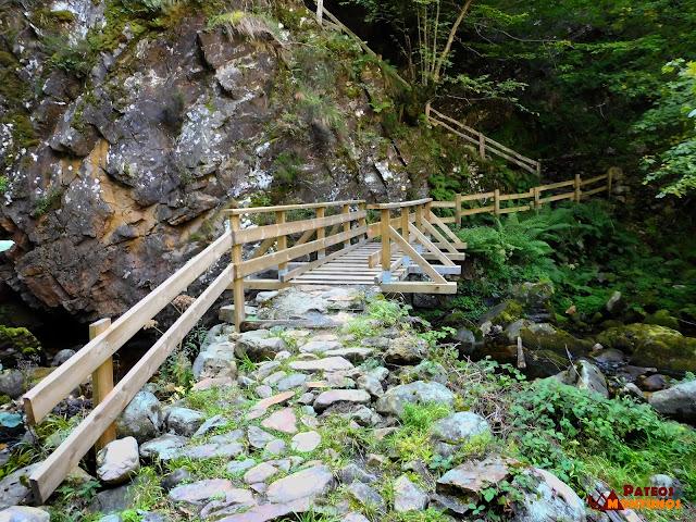 Desfiladero de Los Arrudos: Puente la Calabaza de Arriba