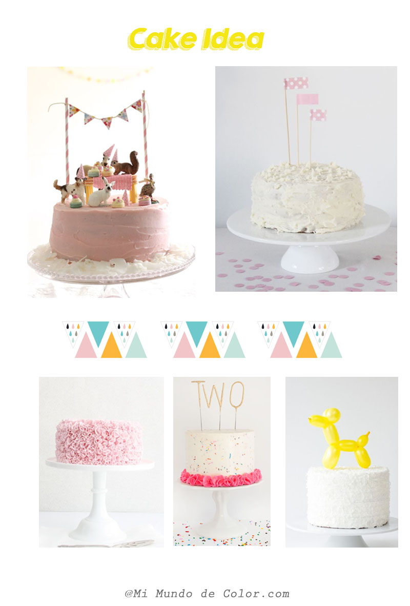 cake deco baby party