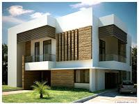 Cara mendesain Rumah Mewah Minimalis Modern