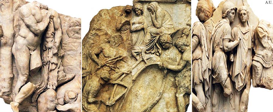 The Telephus frieze from The Pergamon Altar