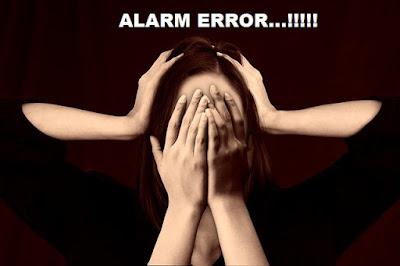 Cara memperbaiki Alarm Albox error