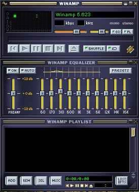 Pemutar Musik Canggih Winamp tehnomac