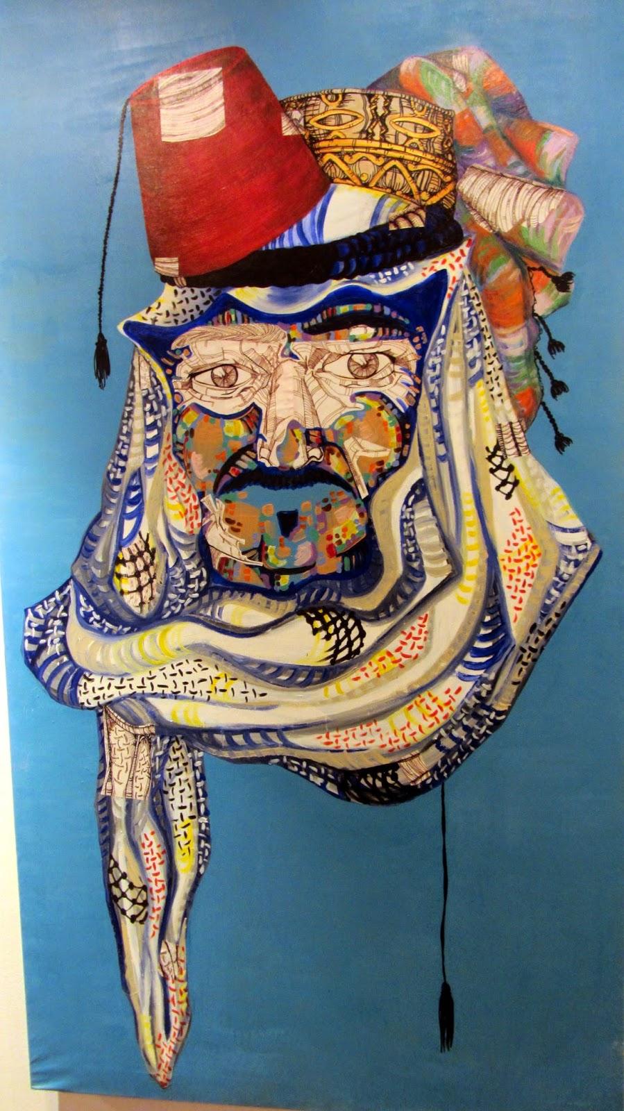 Ramah Alhusseini Loud Art 2014 Desert Designs Khobar Saudi blog