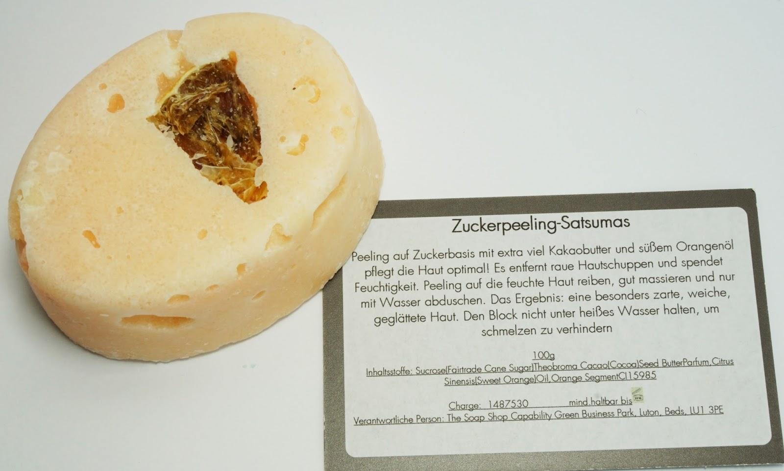 Badegeister - Zuckerpeeling - Satsumas