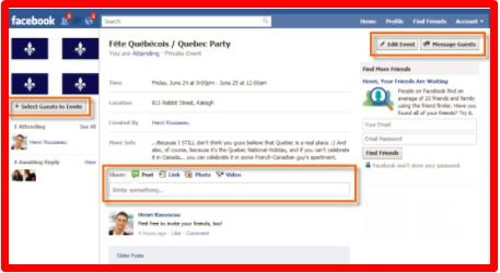 Make Facebook Event