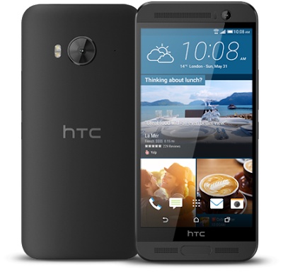 HTC One ME Meteor Gray