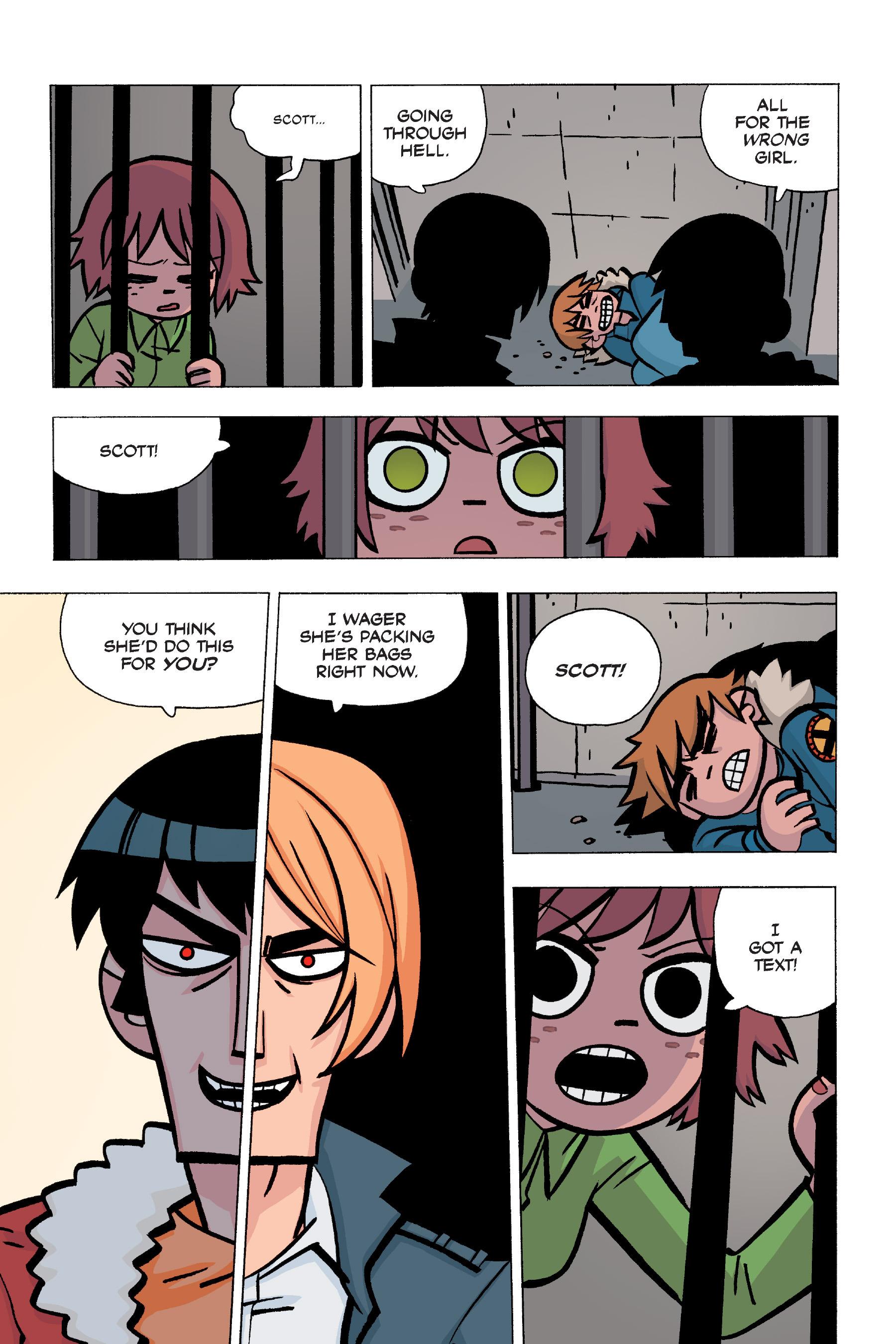 Read online Scott Pilgrim comic -  Issue #5 - 127