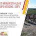 Novos horários de aulas do grupo de idosos do Serviço de Convivência e Fortalecimento de Vínculos, em Mairi