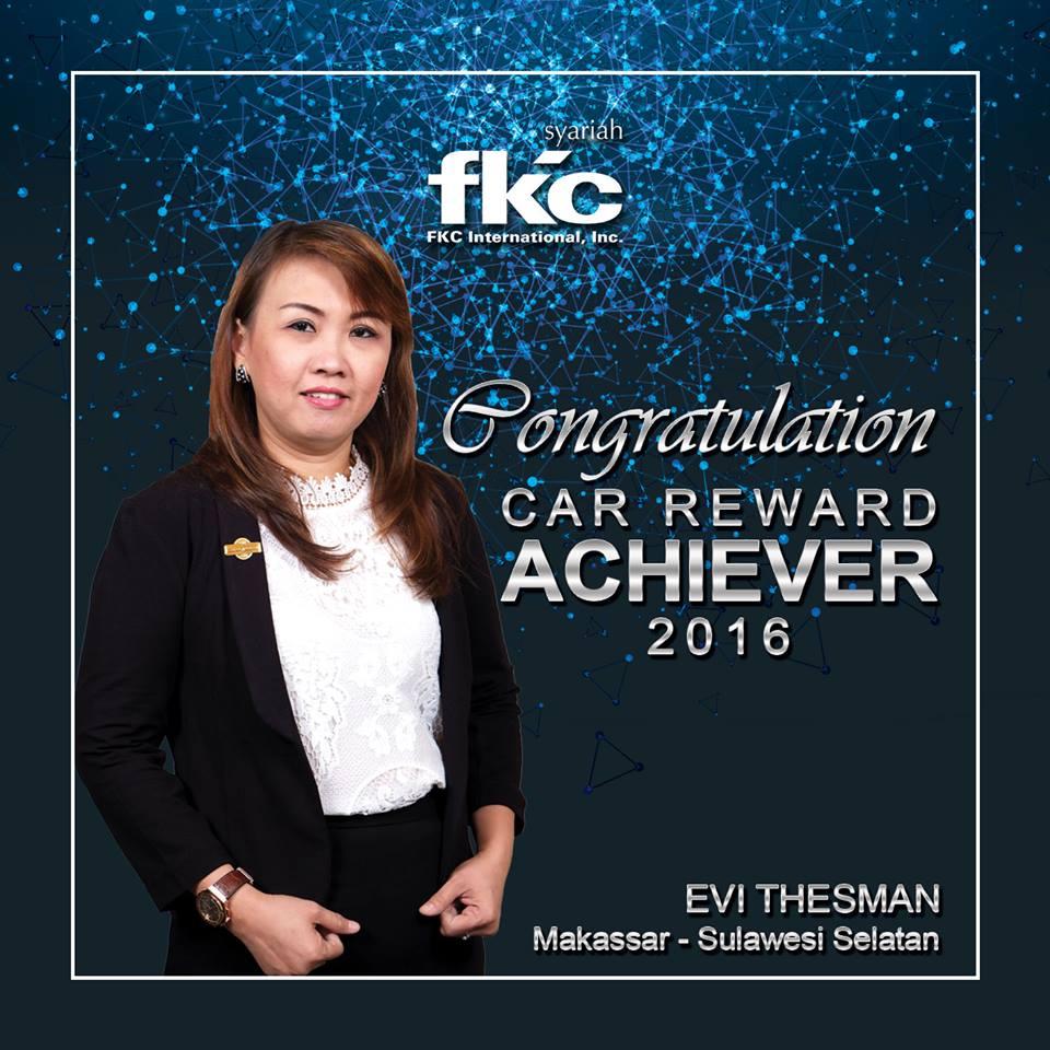 Bisnis Fkc Syariah - Reward Evi Thesman