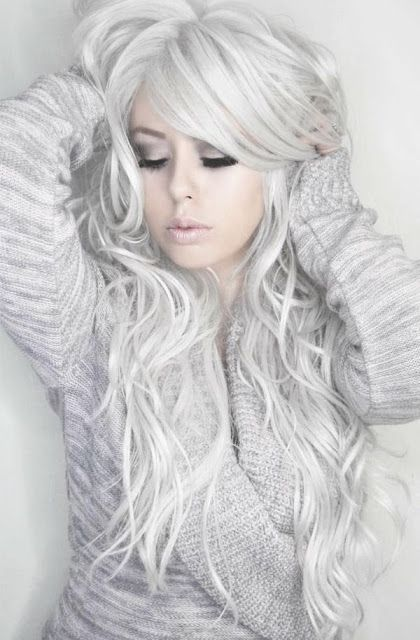 La Moda En Tu Cabello Color De Cabello Rubio Blanco O