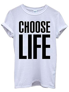 Wham! 80s Choose Life T-shirt