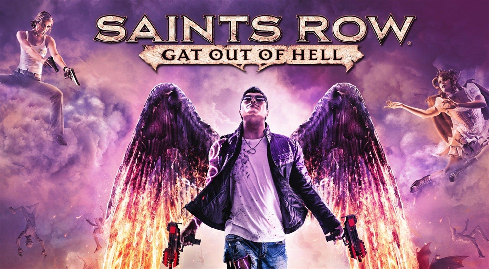 Saints Row Gat Out of Hell Download Poster