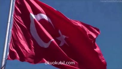 Türkiye'nin İstiklal Marşı.Nisan 2019