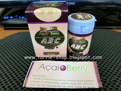 ABC Acai Berry Softgel Pil Pelangsing