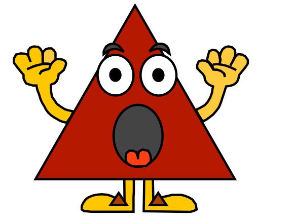 Рисунки треугольников прикольные, картинки для срисовки