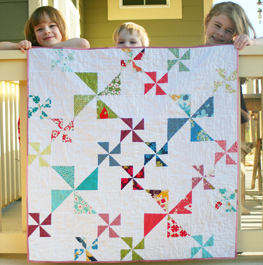 Windy Days Quilt Free Tutorial