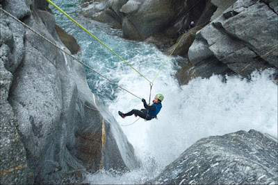 Canyoning in Iran