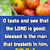 Whatsapp Bible Verse Psalm 34 : 8 Tamil & English