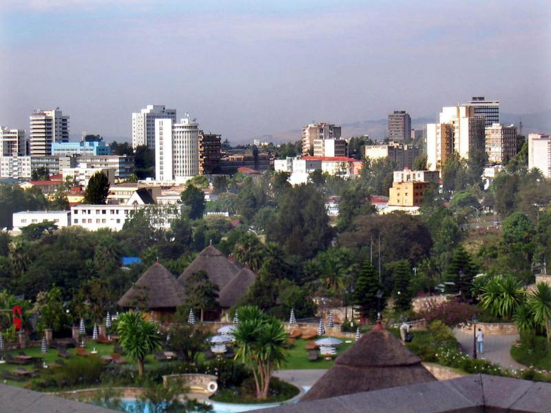 Adis-Abeba, Capital Etíope
