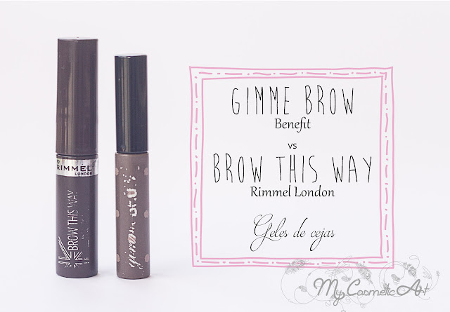 Duelo de Titanes: Gimme Brow de Benefit vs. Brow this Way de Rimmel.