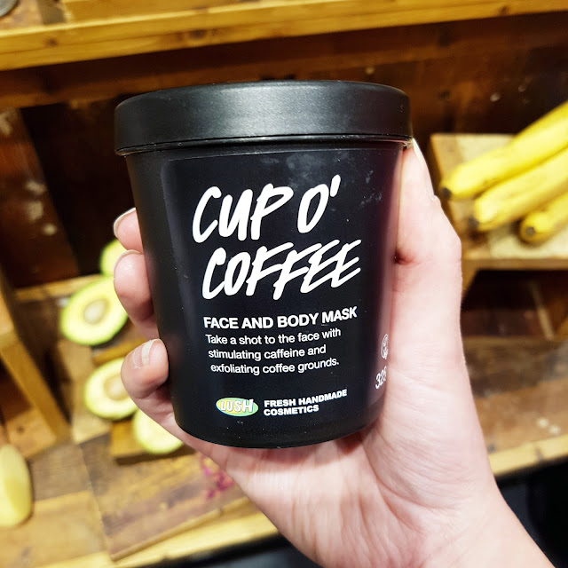 LUSH cup o'coffee face mask | Almost Posh