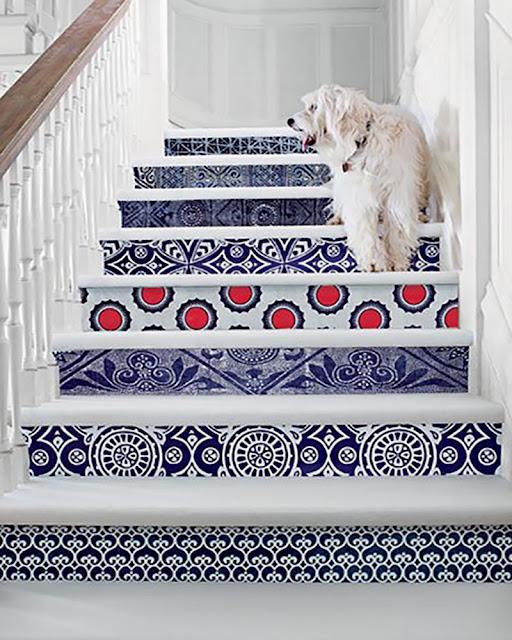 idée décoration escalier