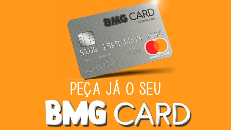 Como solicitar um cartão BMG