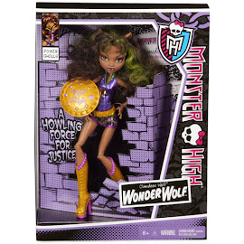 MH Power Ghouls Clawdeen Wolf Doll