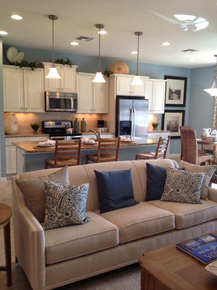 C mo integrar la cocina y el sal n cocina y muebles for Living room n kitchen
