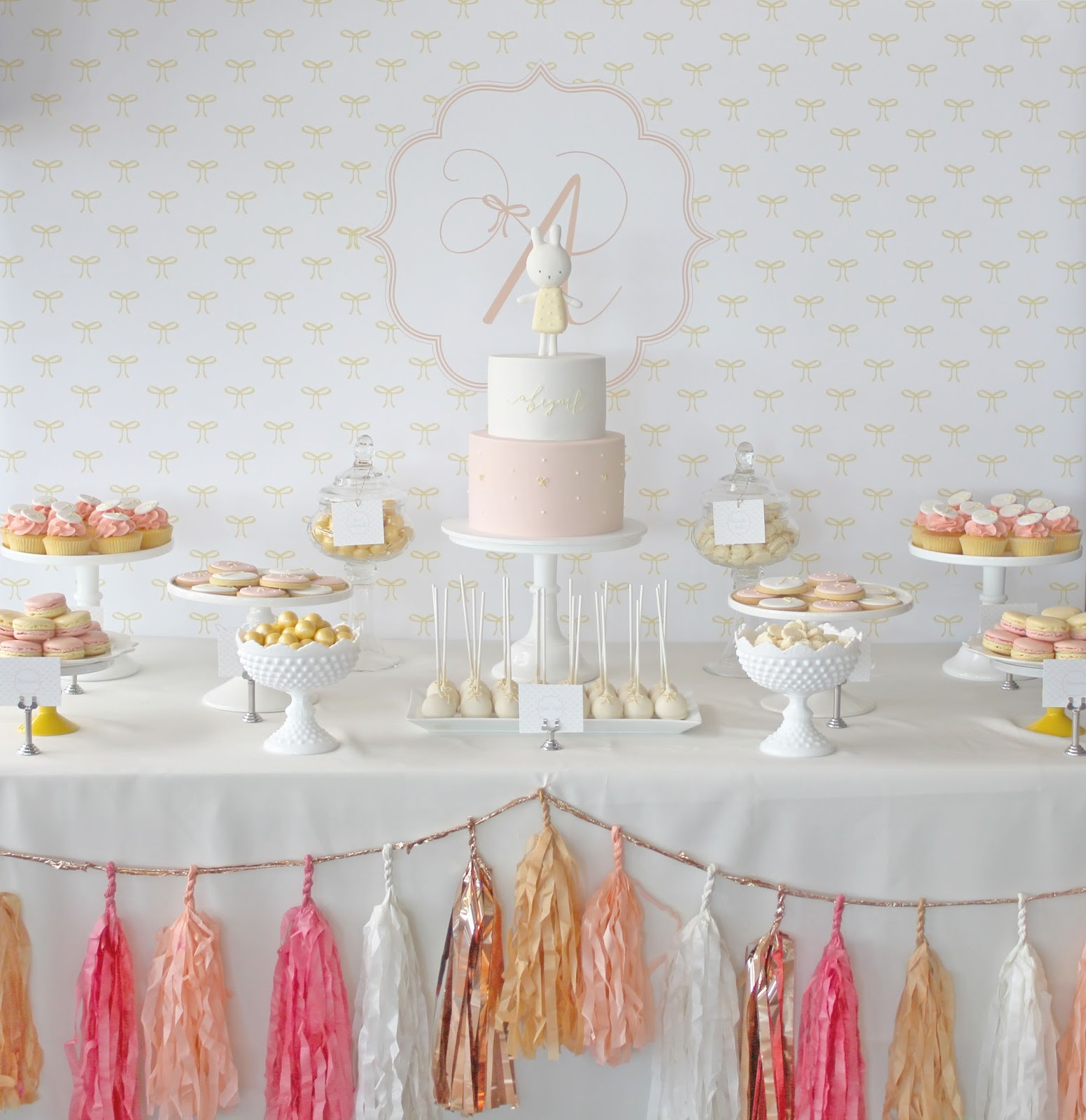 One Lovely Day Abigail S Christening Styled By One Lovely Day