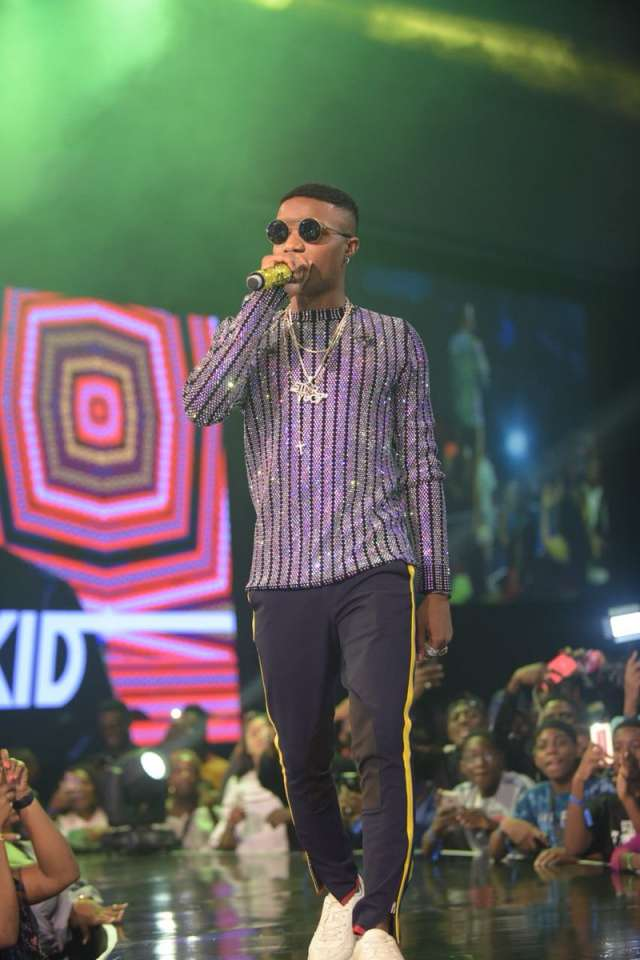 REVEALED! WIZKID'S GUCCI OUTFIT TO HIS CONCERT COSTS ABOUT TWO MILLION NAIRA ONLY