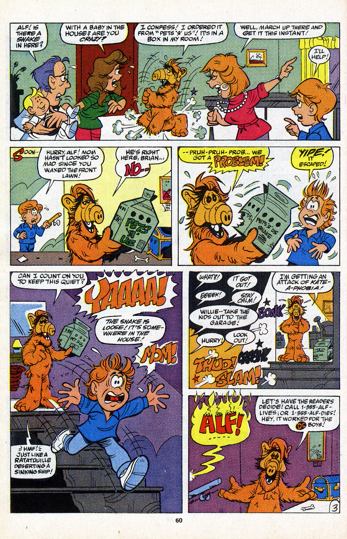 Read online ALF comic -  Issue #2 - 61