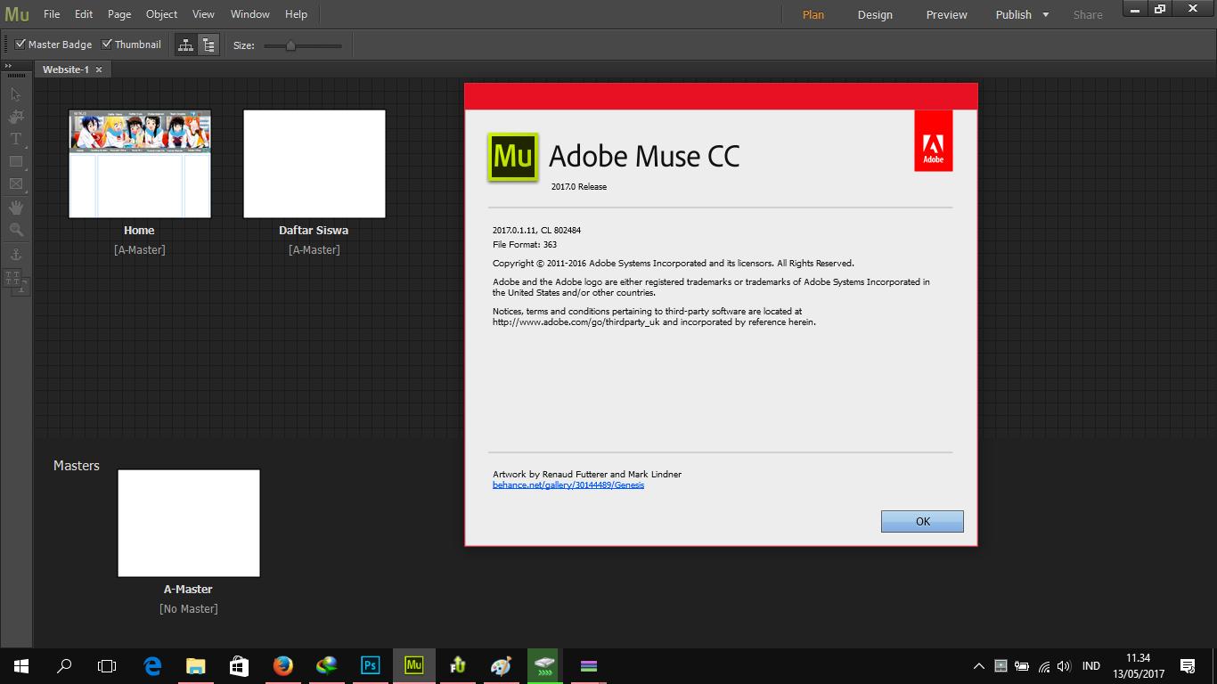 Adobe Muse CC 2017 Full Version ~ AniWare