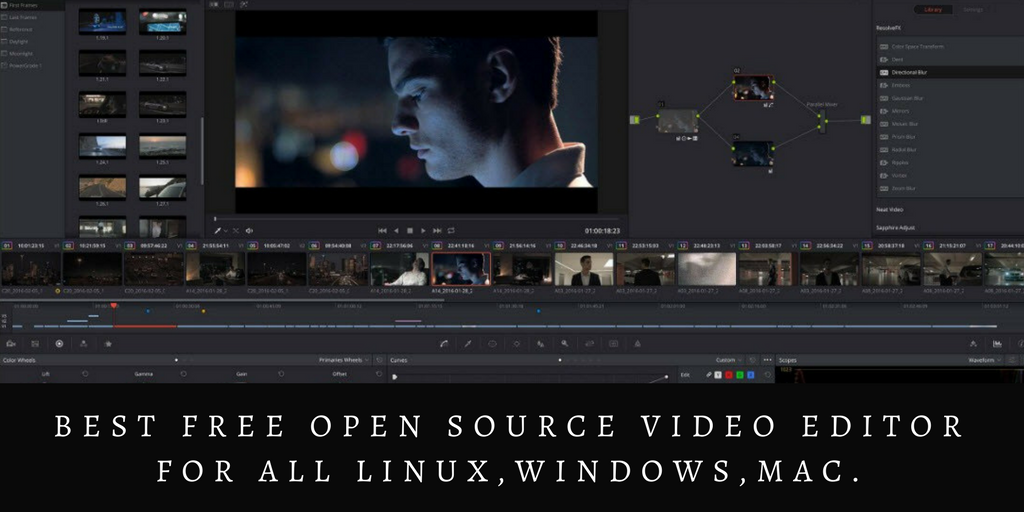 Best Free Open Source Video Editor For All Linux Windows