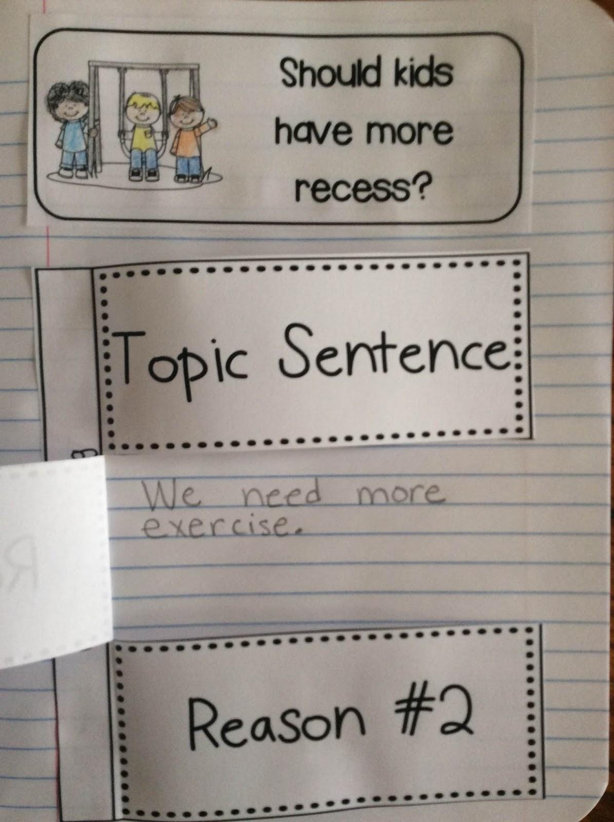Interactive Writing Notebook for First Grade - First Grade ...