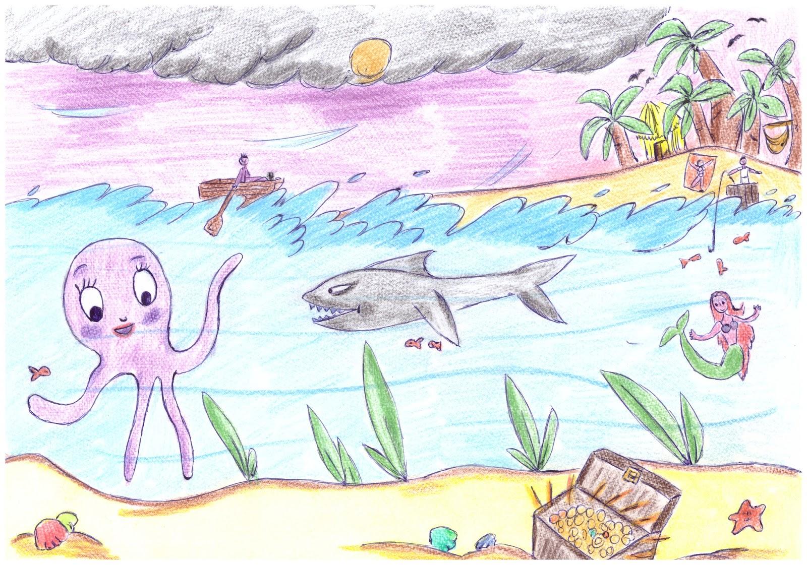 Grafologia l interpretazione del disegno come prezioso for Disegno paesaggio marino