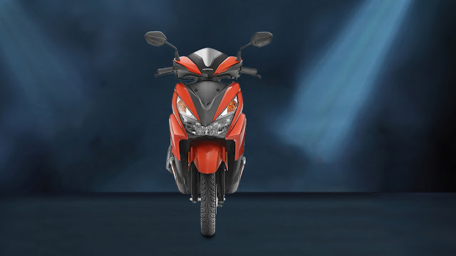 Honda Grazia 125 Front show Hd Wallpaper