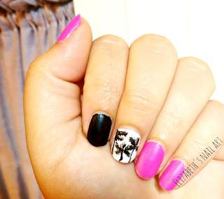 diseño de uñas- palmeras