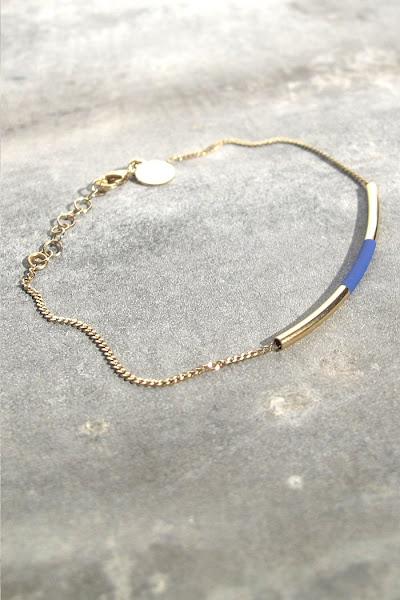 Bracelet bleu Judith Benita