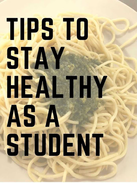 Tips to Stay Healthy As a student in College and Graduate School