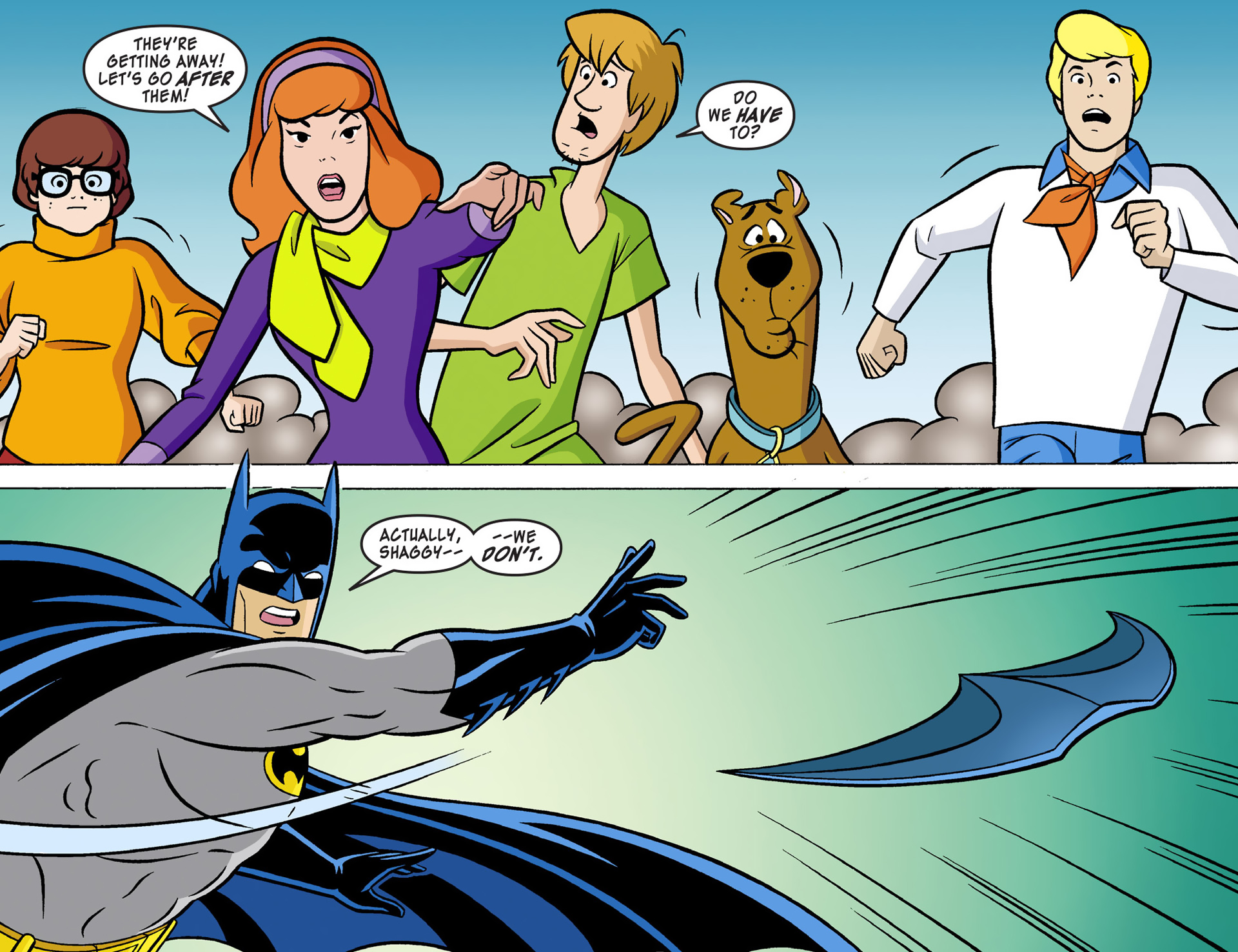 Read online Scooby-Doo! Team-Up comic -  Issue #1 - 14