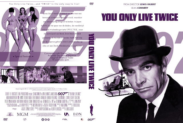 Capa DVD 007 You Only Live Twice