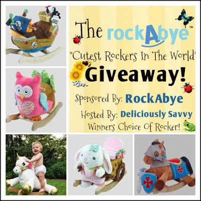 "Enter The RockAbye ""Cutest Rockers In The World"" Giveaway. Ends 3/29"
