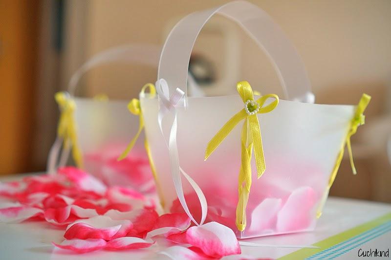 Blumenkörbchen selber machen